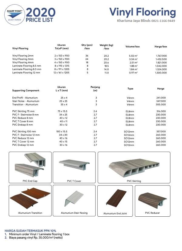 Harga Lantai Vinyl Plank